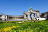 Parc du Cinquantenaire in Brussels, Belgium — Stock Photo