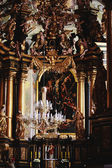 Interior of temple of the Order of st. Andrew in Lviv (Ukraine) — Stock Photo