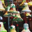 Decorative gift bells with the city Lviv — Stock Photo