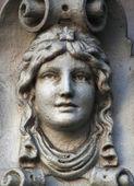 Gesicht der göttin hera — Stockfoto