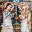 Stock Photo: Icon of Annunciation of Virgin Mary