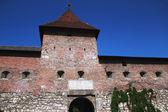 Las ruinas de un castillo del siglo xvi — Foto de Stock