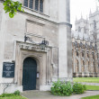 Westminster abbey London — Stock Photo