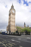 Houses of Parliament, Big Ben, London — Stock Photo