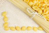 Pasta texture — Stock Photo