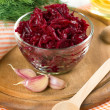 Crated beet - Stock Photo