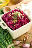 Crated beet — Stock Photo