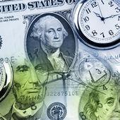 Il tempo è denaro — Foto Stock