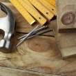 Woodworking tools - Stock Photo