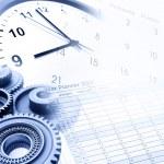 Uhr und Kalender — Stockfoto #11714823