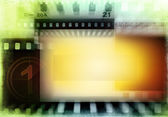 Film negatives background — Stock Photo