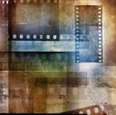 Film negatives — Foto Stock