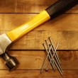Hammer and nails — Stock Photo #12198634