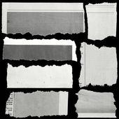 Gescheurd papier — Stockfoto