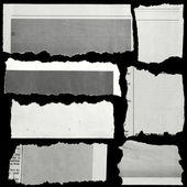 Roztrhaný papír — Stock fotografie