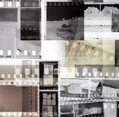 Film negatives — Stock Photo