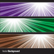 Set of Banners. Abstract Background. Eps10 Format. - Stock Vector