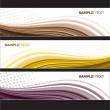 Set of Banners. Abstract Background. Eps10 Format. — Stock Vector #11992306