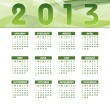 2013 Calendar. Vector Eps10. — Stockvectorbeeld