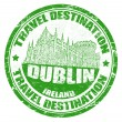 Stock Vector: Dublin stamp