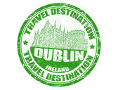 Dublin stamp — Stock Vector