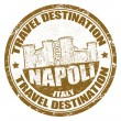 Stock Vector: Napoli stamp