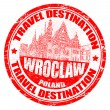 Wroclaw stamp — Stock Vector