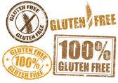 Gluten free — ストックベクタ