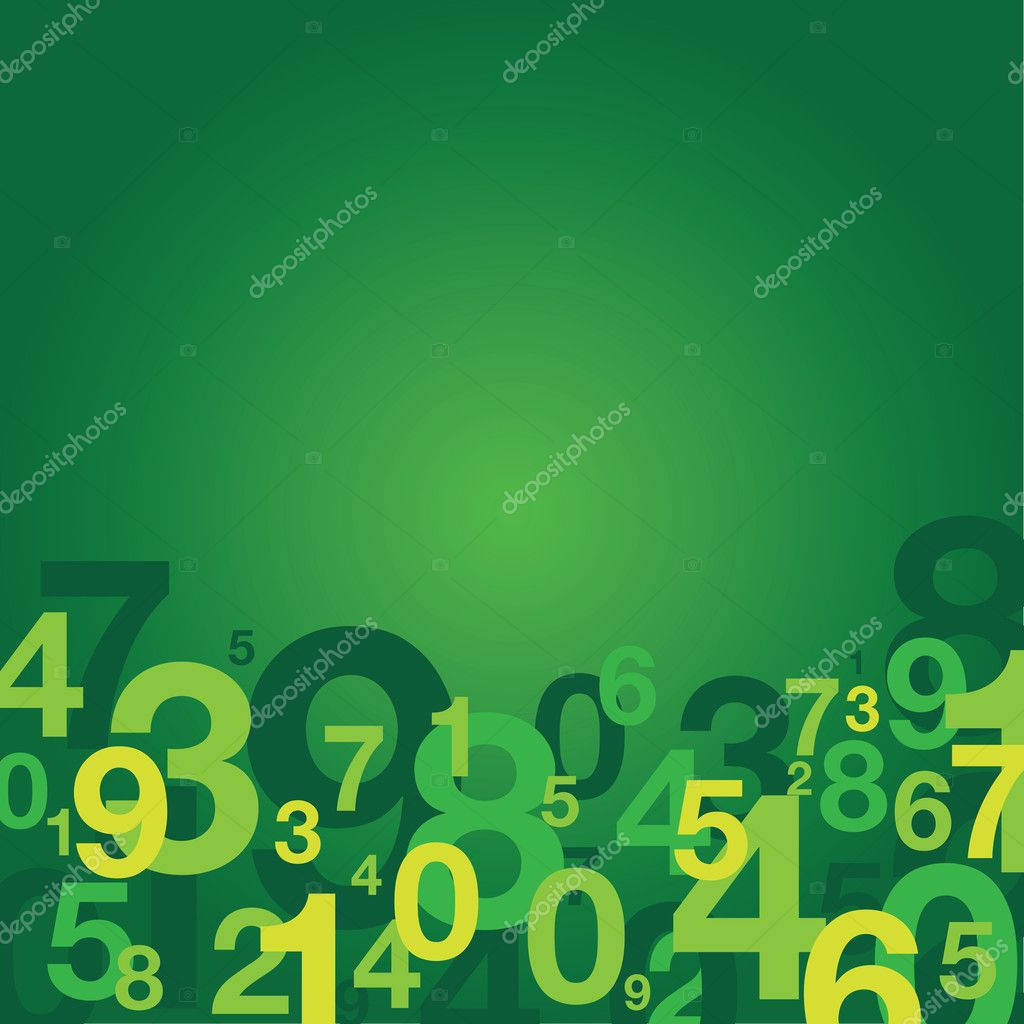 Abstract number background — Stock Vector #11221282