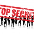 Royalty-Free Stock Vector Image: Top secret