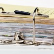 File folder with documents and documents — Stock Photo #10748635