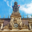 Paris, france. city hall hotel de ville — Stock Photo #10839052