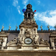 Paris, france. city hall hotel de ville — Stock Photo #10839110