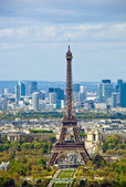 Paris, francia. la torre eiffel — Foto de Stock