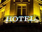 Paris, france. hotel — Stock Photo