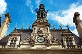 Paris, france. city hall hotel de ville — Stock Photo