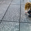 Math problem on a pavement — Stock Photo
