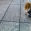 Stock Photo: Math problem on pavement