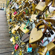 Stock Photo: Paris, france. symbols of love