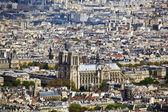 Paris, france. notre dame — Stock Photo