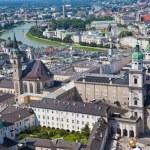 Austria, salzburg, cityscape — Stock Photo