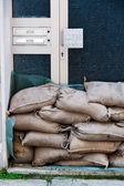 Floods in passau, germany — Stock Photo