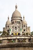 Paris. sacre coeur in montmartre — Stock Photo