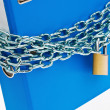 File folder closed with chain — Stock Photo #11398771
