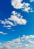Clouds against a blue sky — Foto Stock