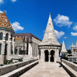 Hungary, budapest, fishermen's bastion. — Stock Photo #11475246