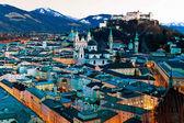 Salzburg, austria cityscape, — Stock Photo