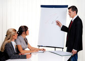Education for staff training for adults — Stock Photo