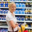 Royalty-Free Stock Photo: Woman at the supermarket