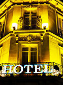 Paris, france. hotel — Stock Photo